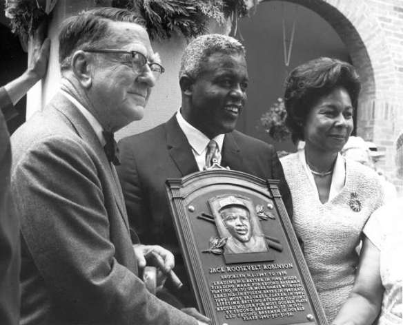 Branch Rickey - Jackie-Robinson - Hall of Fame